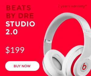 Beats headphones banner