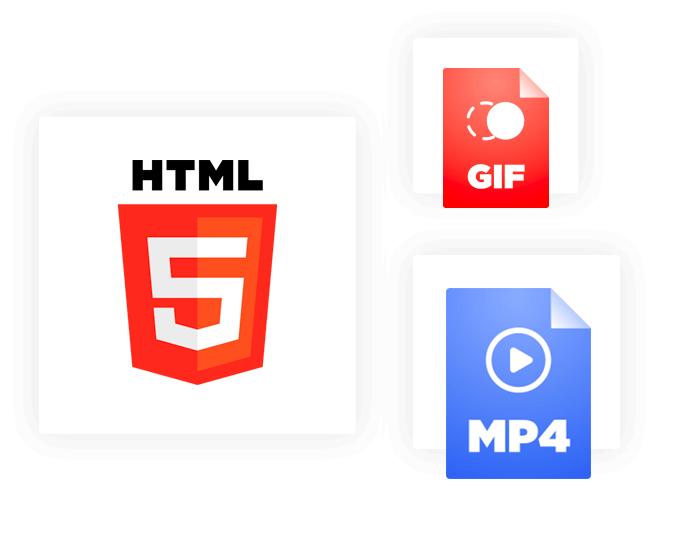 Animated or static HTML5 banners. We've got you covered